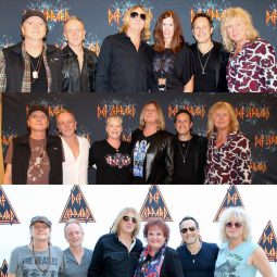 Def Leppard Meet & Greets with ICJUK Designs