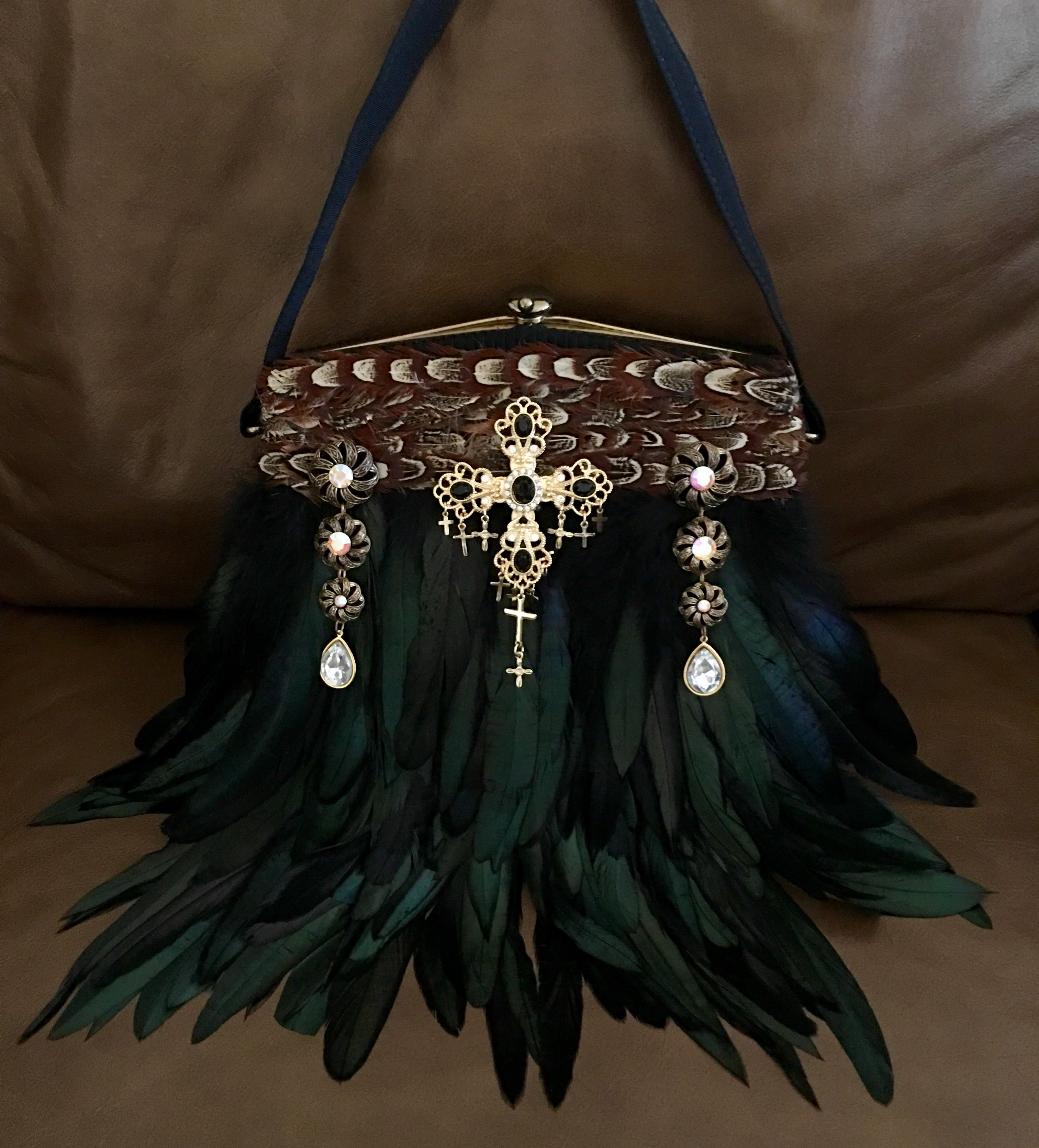 After Binge watching REIGN I just had to create a handbag fit for a Queen!