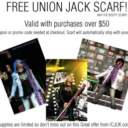 Free Scarf with Purchase from ICJUK