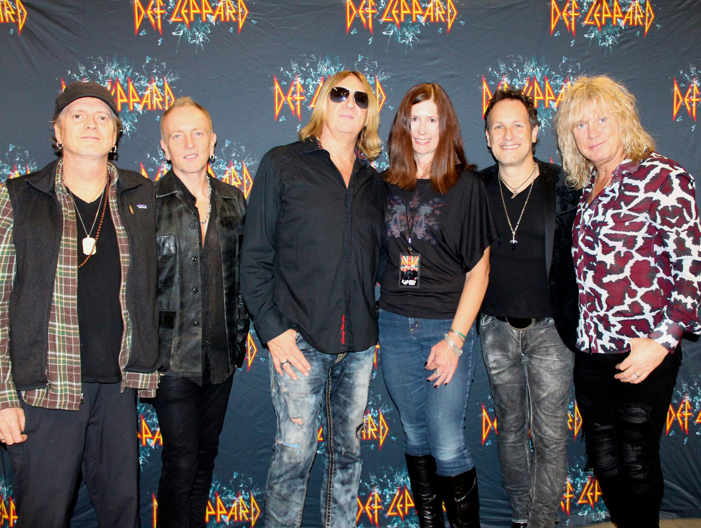 Def leppard meet greets with icjuk designs ruth at the toledo show on october 8th i was so thrilled to wear kristyandbryce Choice Image