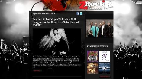 Z Rockr.com Magazine Press