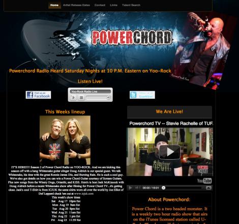 Power Chord Radio