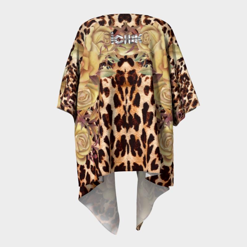 ICJUK Leopard Floral